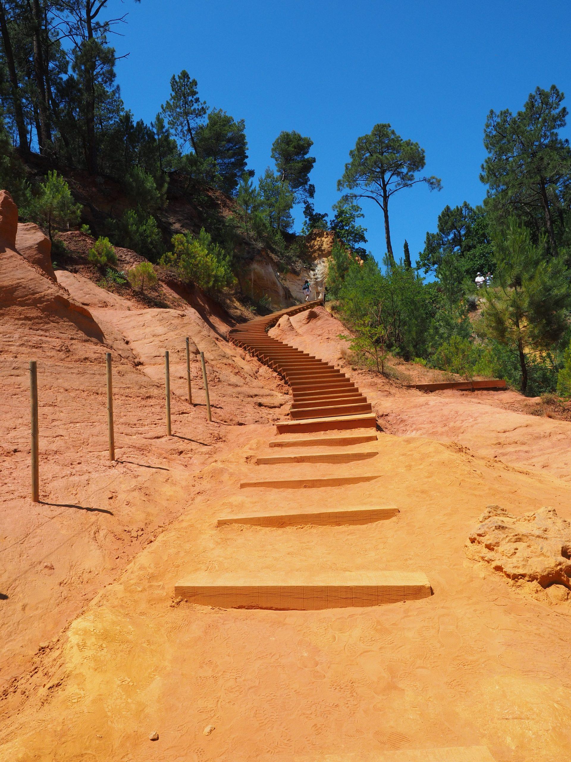 landscape-sand-rock-desert-walkway-france- Visit Provence