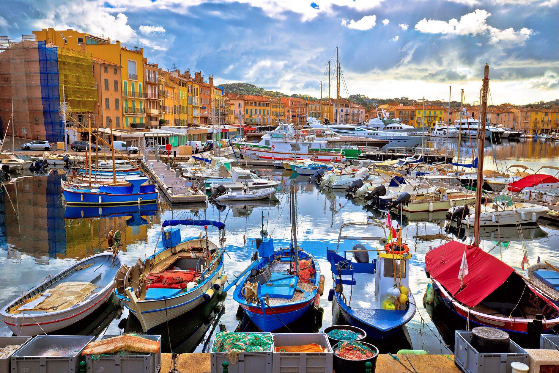 Port sur la Méditerranée