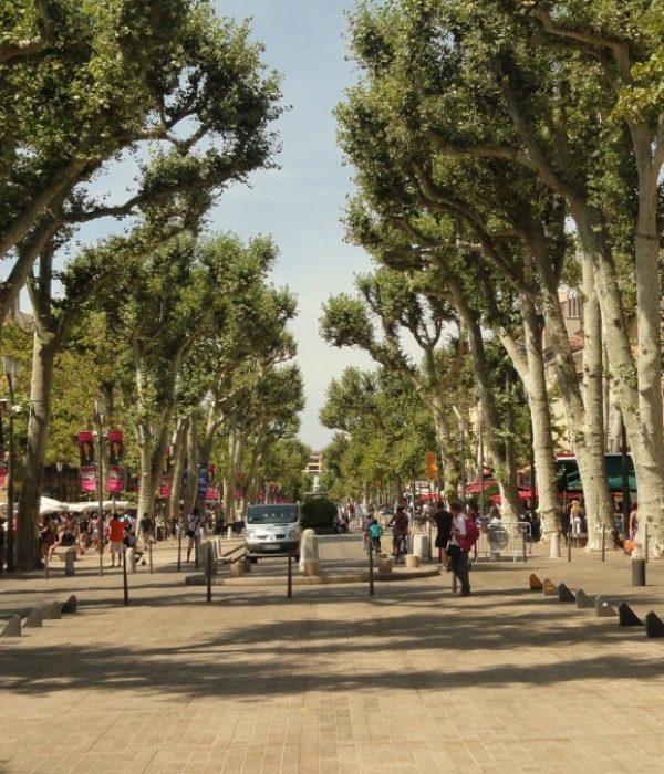 Cours mirabeau - Aix en Provence - Visit Provence