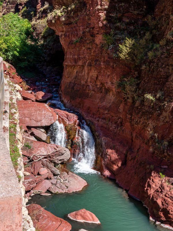 The Gorges du Cians, famous canyon in Alpes-Maritimes, Provence-Alpes-Cote-d'Azur, France