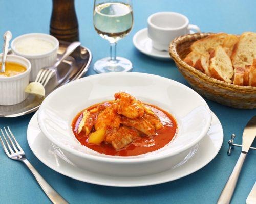 bouillabaisse, soupe de poisson, french marseille fish soup
